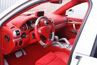 New Cayenne Diesel from Porsche interior dashboard