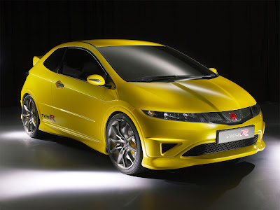 2010 Honda Civic Type R fast car  Front view