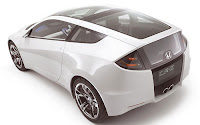 2011 Honda CR-Z futuristik dan sporty back view