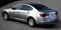 2011 Kia Cadenza (base price $26,195) back side view