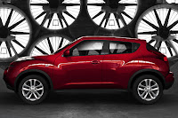 2011 Nissan Juke (estimated base price $18,500) side view