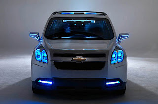 2011 Chevy Orlando the latest things front view