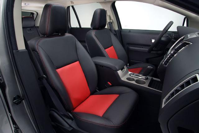 Ford Edge 2011 Crossover Stylish style front seat view