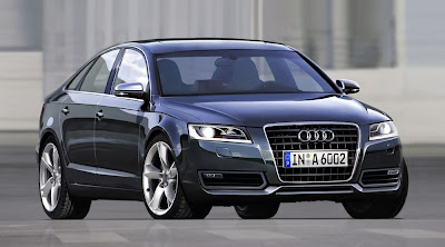 New Faces More Elegant Audi A6 front view