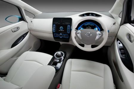2011 Nissan Leaf Zero Emissions INTERIOR VIEW