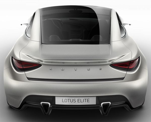 2011 Debut Lotus Elite in Paris back view