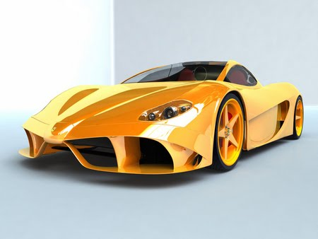 ferrari-wallpaper yellow sport