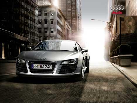 Audi Wallpaper city view