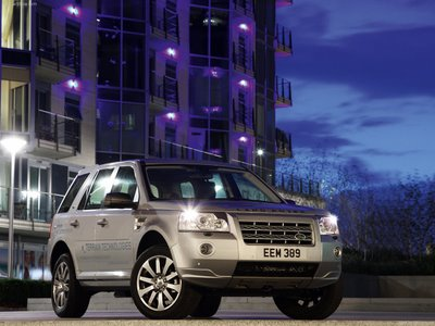 Land Rover Wallpaper city view