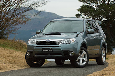 2010 Subaru produced a special series SUV Forester SureTrak