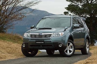 2010 Subaru produced a special series SUV Forester SureTrak