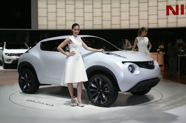 2011 Nissan is preparing a crossover future