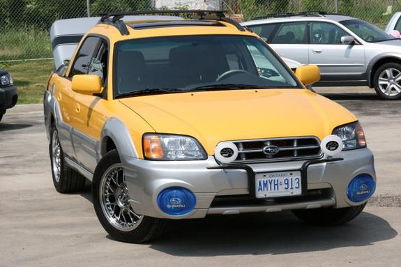 2011 Subaru withdrawal of model Baja
