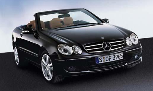 2011 The last car Karmann become Mercedes CLK-Cabrio