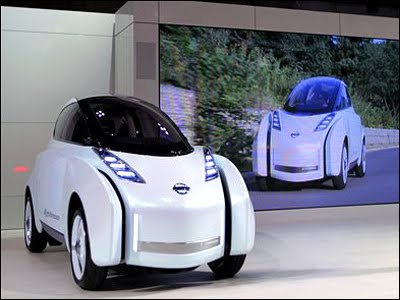 2011 Nissan Motor showed a new hybrid electric vehicles