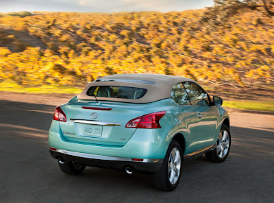 2011 New Nissan Murano CrossCabriolet Concept