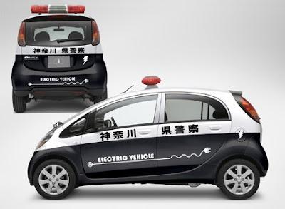 2011 Mitsubishi i-MiEV concept at Moscow motor show