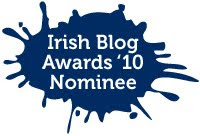 Irish Blog awards &#39;10 nominee