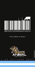 Logo oficial de la marcha mundial por la protecciòn del animal del dìa 4 DE OCTUBRE
