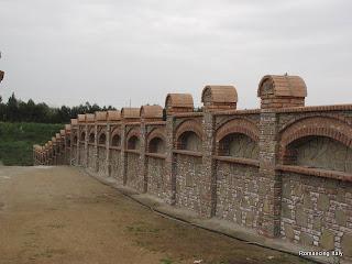 Brickwork Wall Romancing Italy