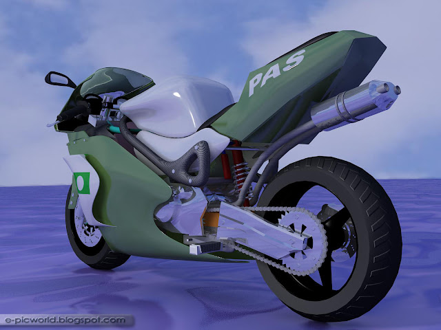 3D Motorbike - PAS Superbike 2