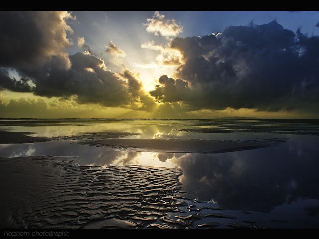 Sunrise at pantai Kuala Ibai picture