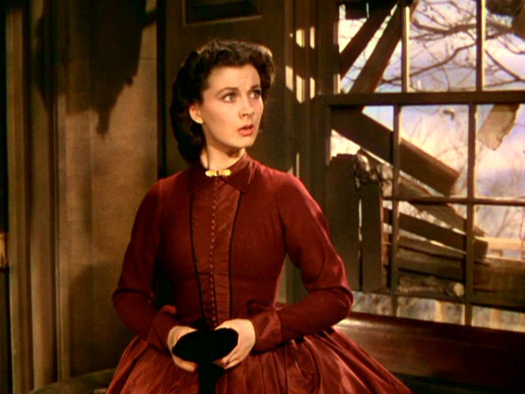 How we do run on doppelganger dresses part 19 scarlett for Who played scarlett in gone with the wind