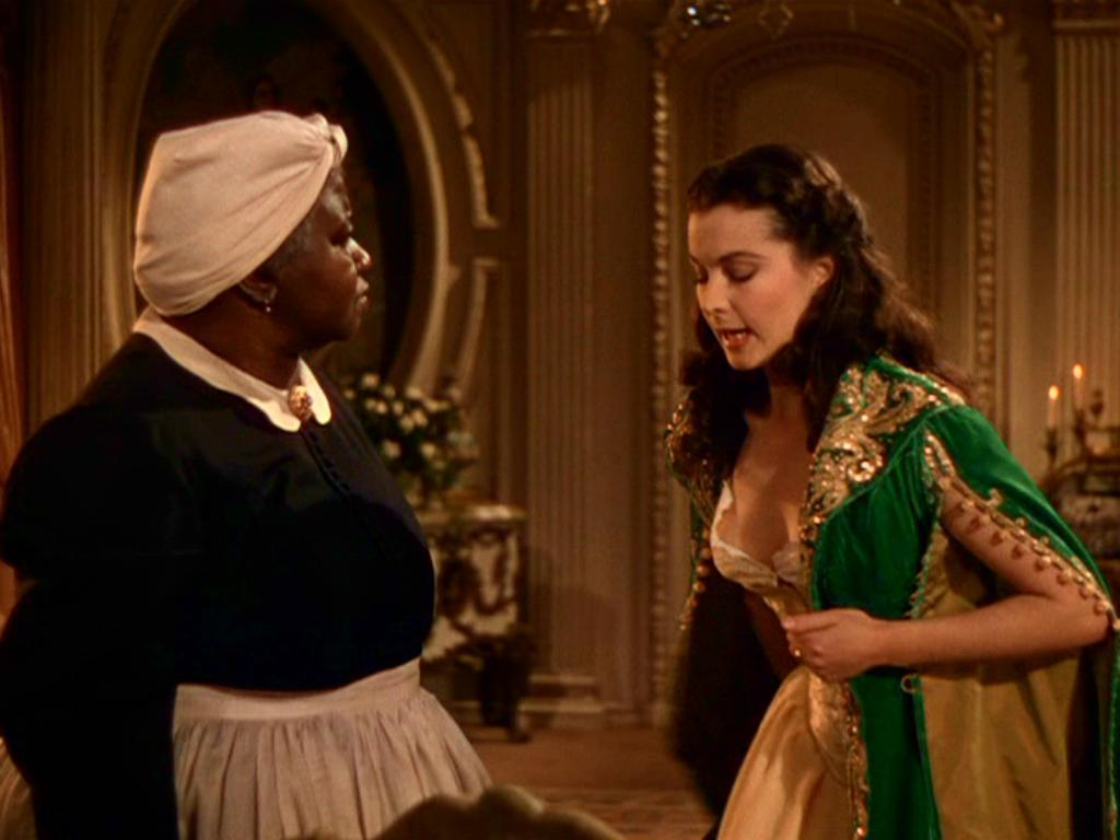 How we do run on doppelganger dresses part 20 scarlett for Who played scarlett o hara in gone with the wind