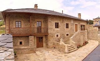 Arquitectura ingenier a y construcci n restauraciones espectaculares - Casa tipica gallega ...