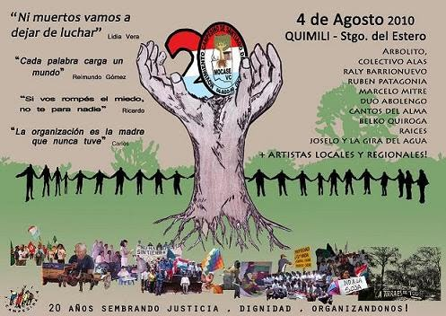 20 AOS MOCASE VIA CAMPESINA