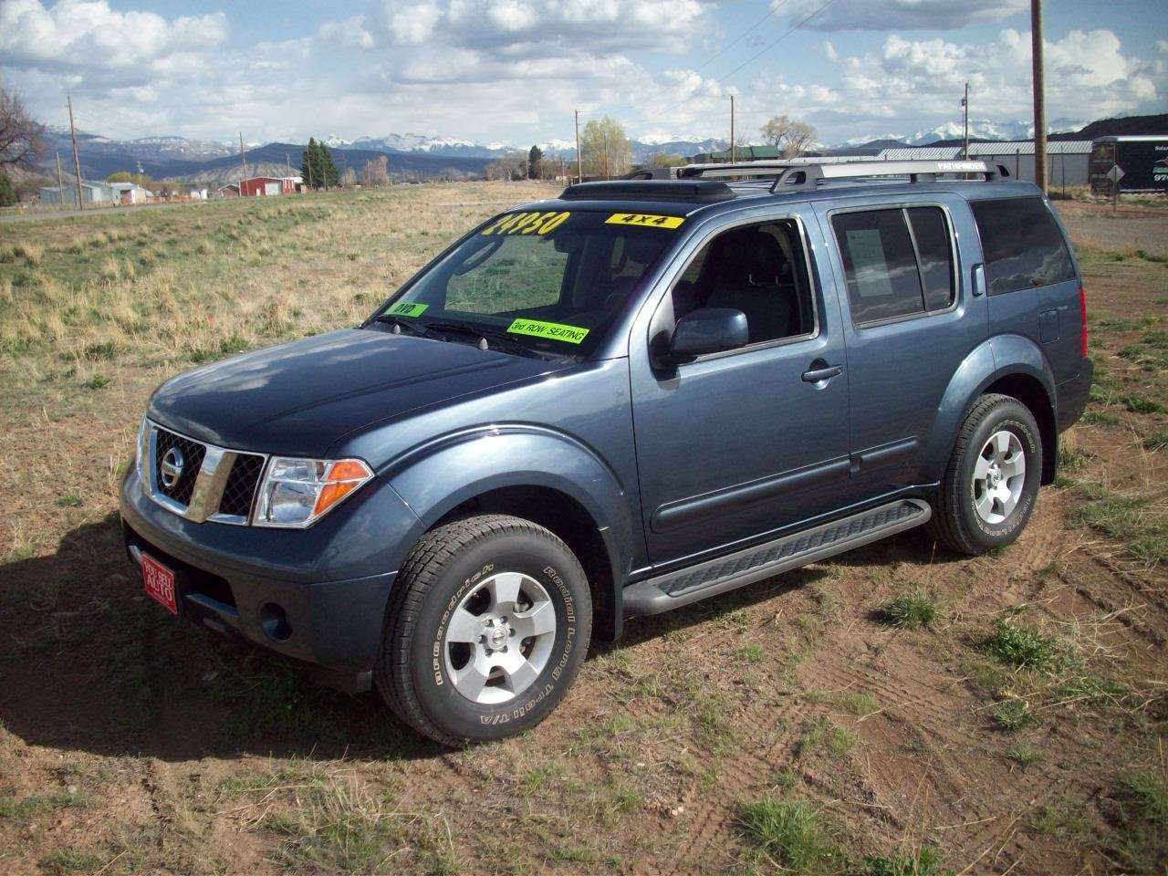 2007 nissan pathfinder se 4x4 suv you sell auto. Black Bedroom Furniture Sets. Home Design Ideas
