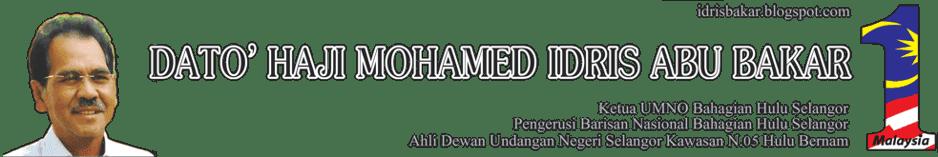 Dato' Haji Mohamed Idris Haji Abu Bakar (d'MIAB)