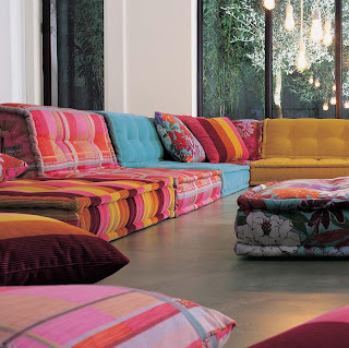 craft line up: Roche Bobois - high end furniture meets textiles