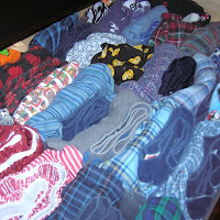 underwear drawer for illustrative purposes only - definitely not my underwear drawer, although it does give me an idea