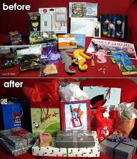 ma's presents, christmas 2009