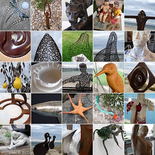 montage: brighton sculptures