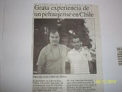 Nota Periodistica-Chile 2010