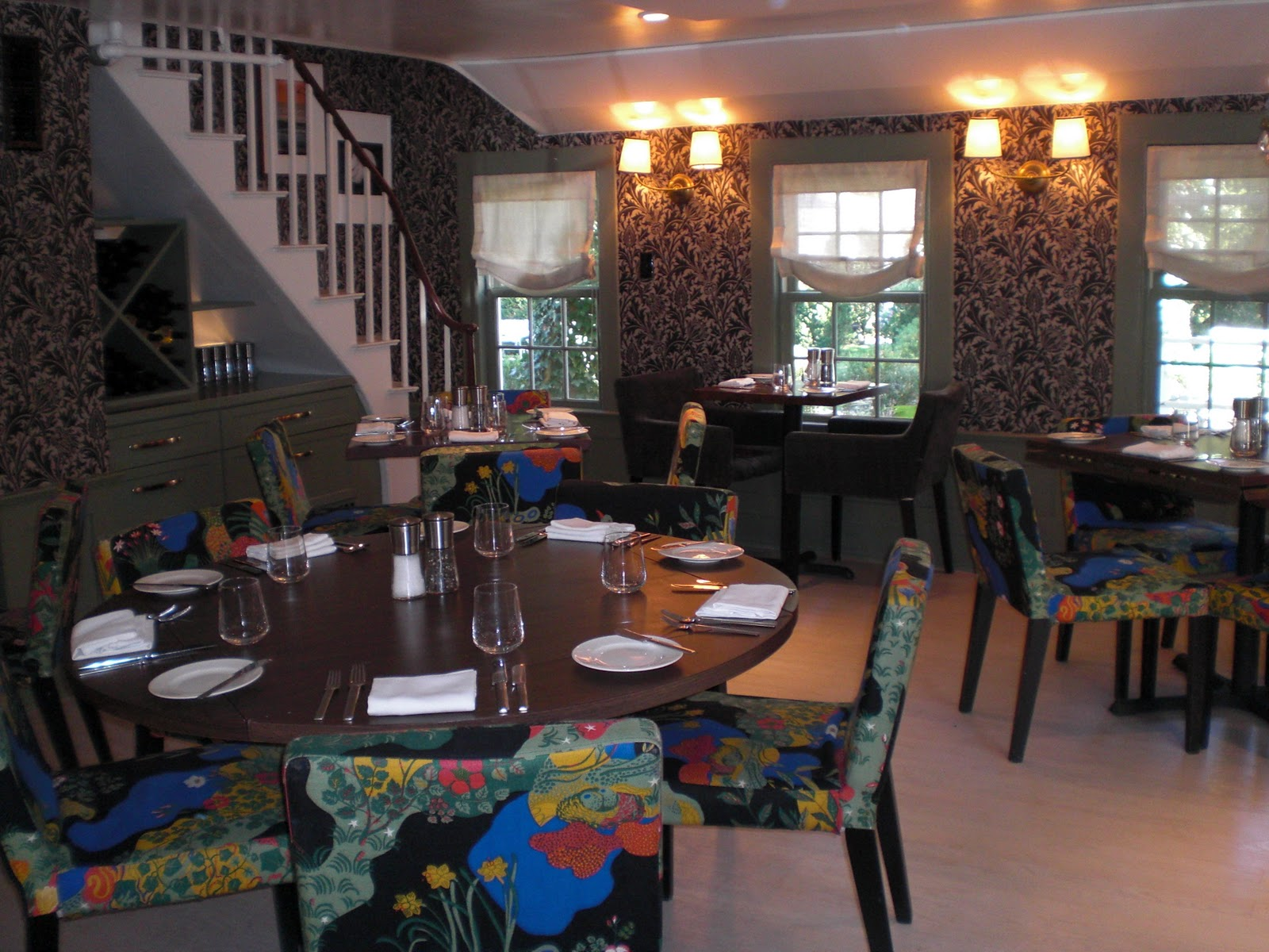 mannerofstyle swedish fabrics by josef frank at the maidstone in