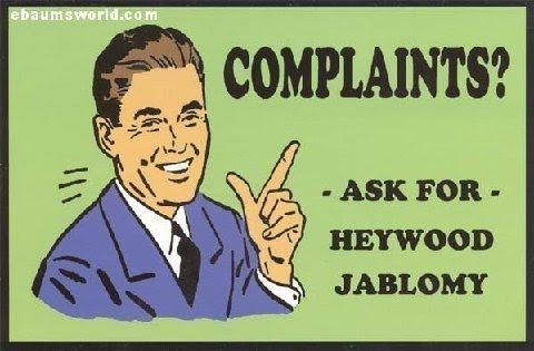 comments? complaints?