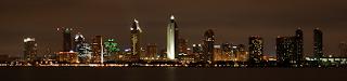 San Diego City at Night Taken By Sam Shuey