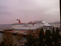 Carnival Cruise Ship - Elation in San Diego