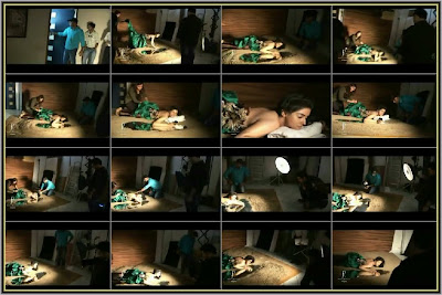 Asin Photoshoot - Making of Dabboo Ratnanis Calendar 2010