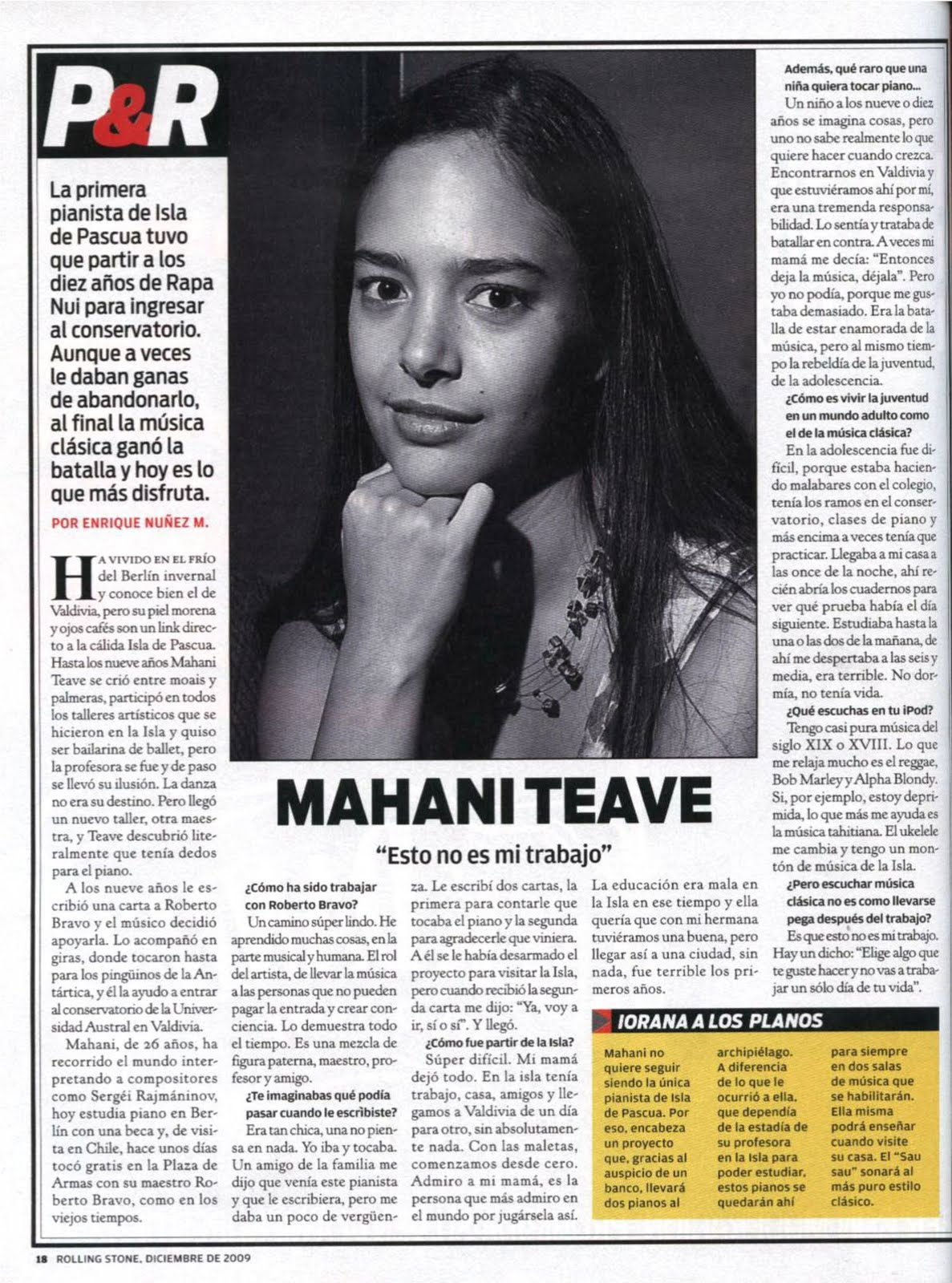 Mahani Teave