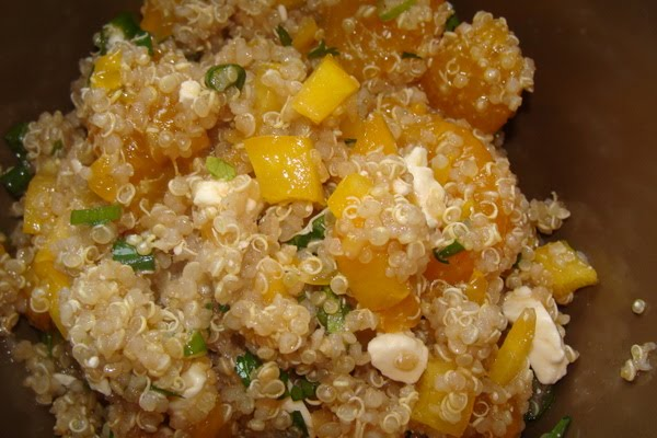 sesame mandarin quinoa salad from picky palate 1 cup whole