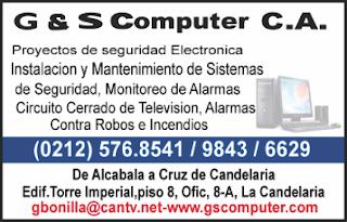 G & S COMPUTER, C.A. en Paginas Amarillas tu guia Comercial