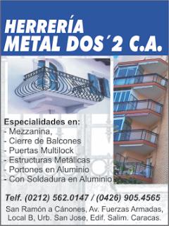 Las Paginas Amarillas.Net -  HERRERIA METAL DOS´2, C.A.