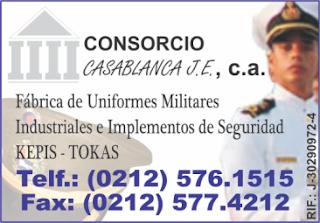 CONSORCIO CASABLANCA J.E., C.A. en Paginas Amarillas tu guia Comercial