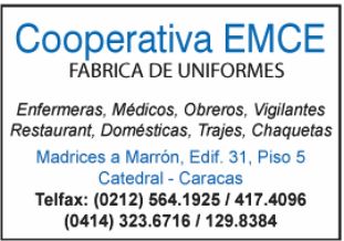 COOPERATIVA EMCE en Paginas Amarillas tu guia Comercial