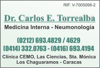 DR. CARLOS E. TORREALBA en Paginas Amarillas tu guia Comercial