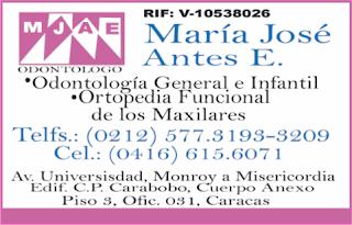MARIA JOSE ANTES E. en Paginas Amarillas tu guia Comercial